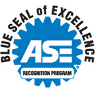 ASE Blueseal of Excellence